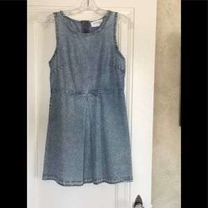 Olive + Oak Denim Dress XS